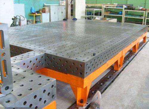 三维柔性焊接平台